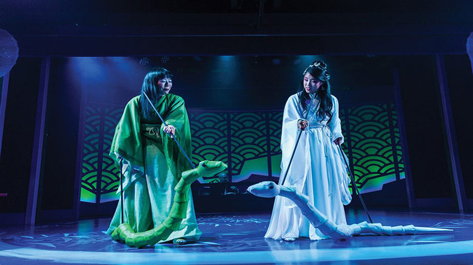 Chinese legend 'The White Snake' Musical Adaptation on Beijing Theater