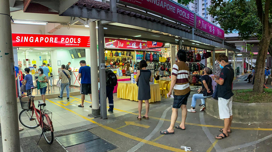 Fewer Singapore Residents are Gambling According to Survey
