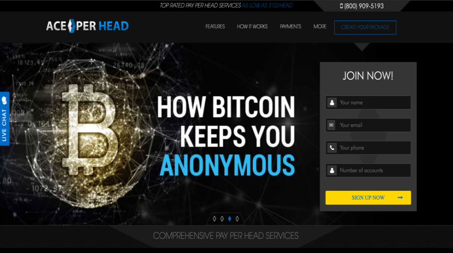 AcePerHead.com Pay Per Head Review
