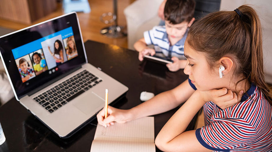 Healthy Screen Time for Distance Learning is A Challenge