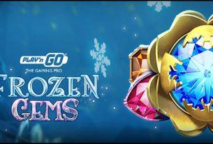 Play'n Go Announces the Premiere of Frozen Gems Video Slot